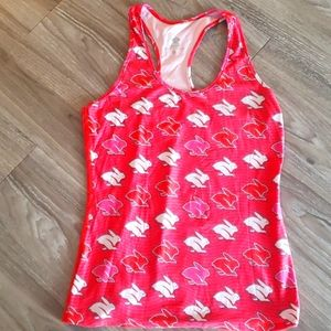 Rabbit running tank top, size small